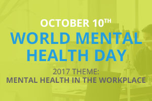 October 10th Is World Mental Health Day