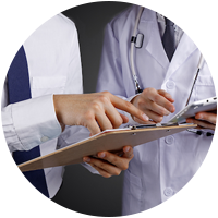 clinical-trial-company-showing-ipad-clipboard