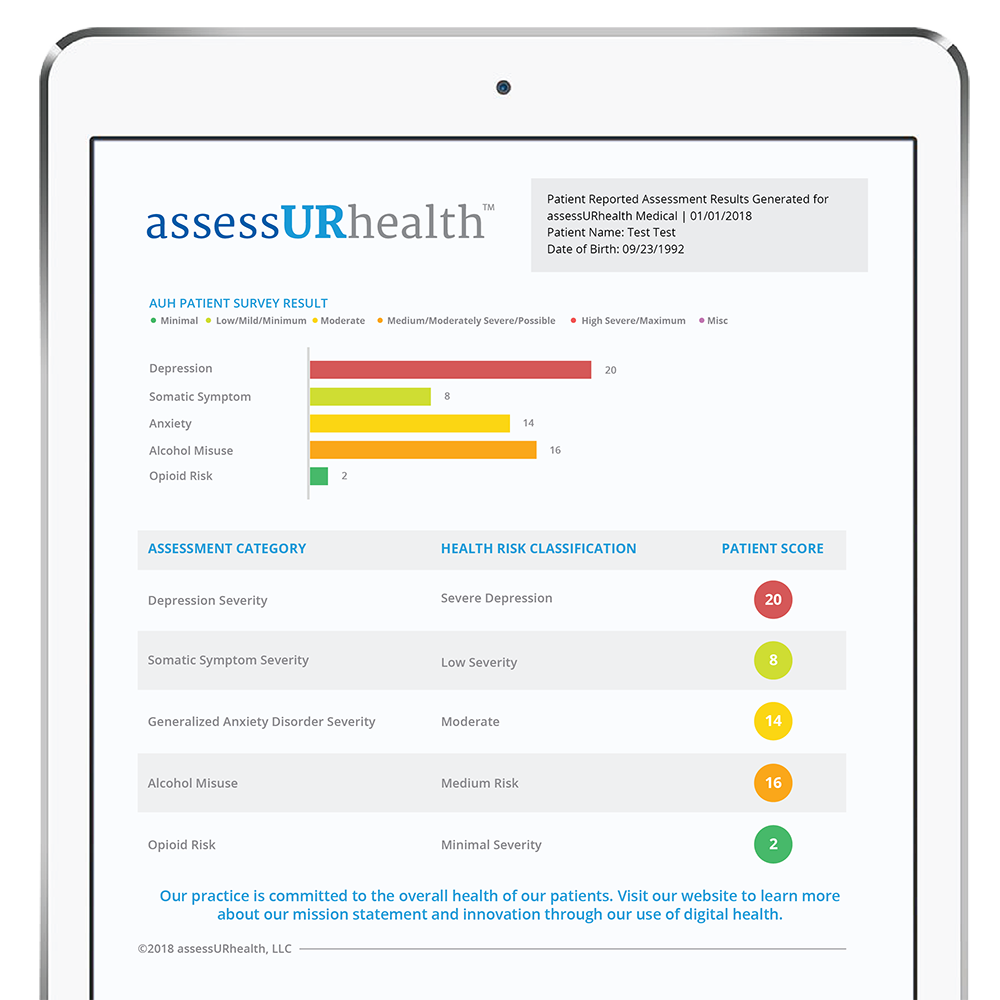 How assessURhealth Works | Electronic mental health ...