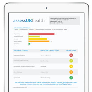 assessURhealth-electronic-behavioral-health-screening-tool