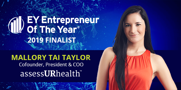 EY Announces Mallory Tai Taylor of assessURhealth, LLC Entrepreneur Of The  Year® 2019 Award Finalist in Florida – assessURhealth